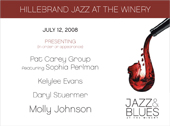Hillebrand Jazz at the Winery