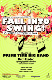 Prime Time Big Band Poster