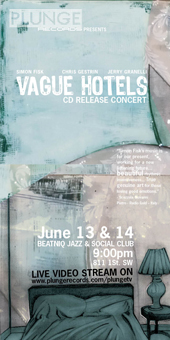Simon Fisk CD Release Vague Hotels