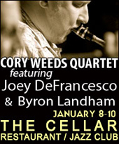 Cory Weeds, Joey DeFrancesco